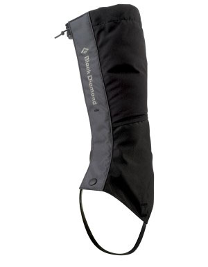 Black Diamond Men's FrontPoint Gaiters in Black