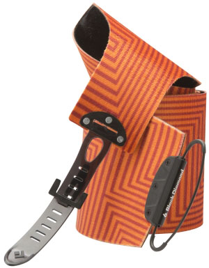 Black Diamond Unisex Ascension Nylon STS Skins in Orange