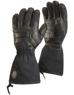 Black Diamond Men's Guide Gloves in Black