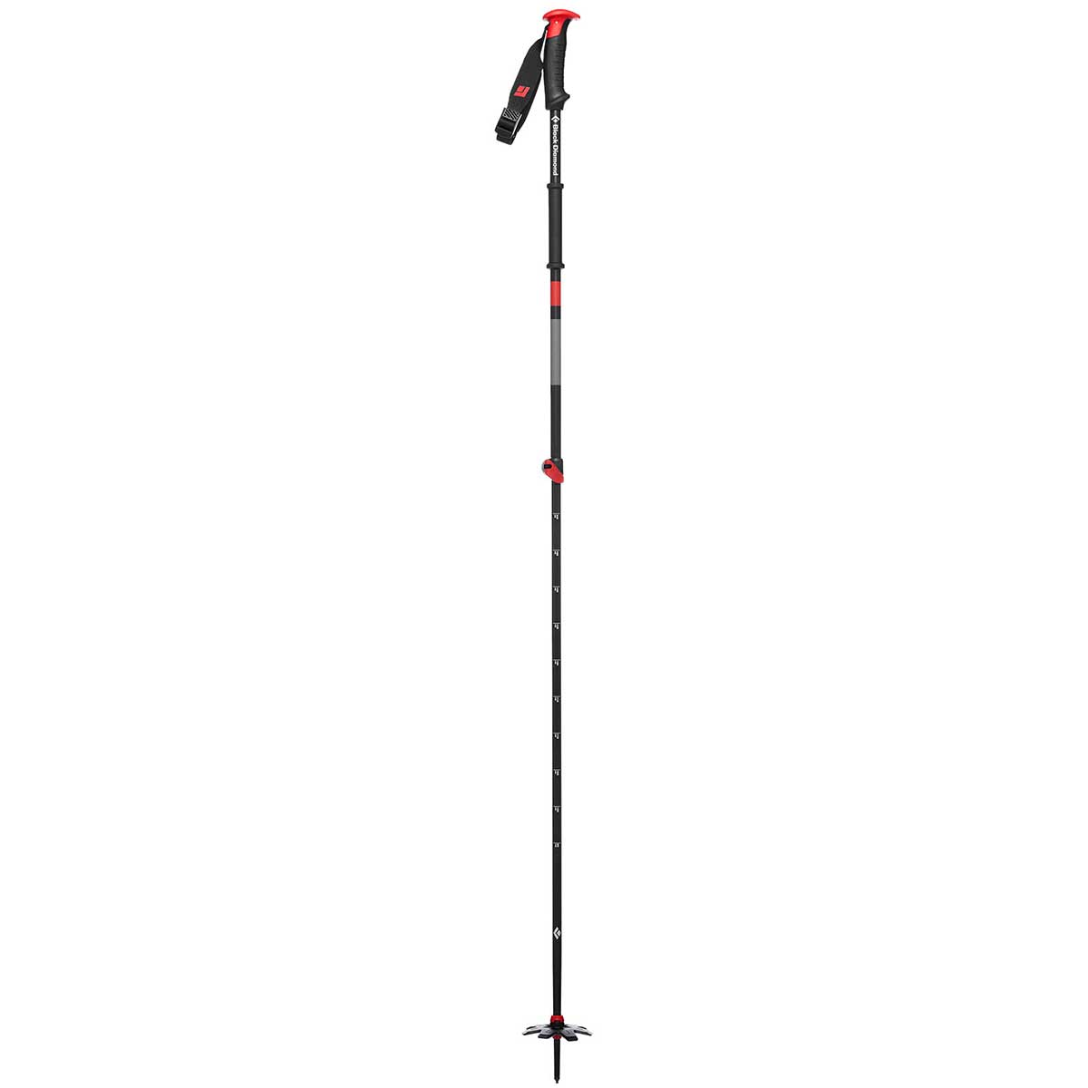 Black Diamond Traverse Ski Pole in One Color main view