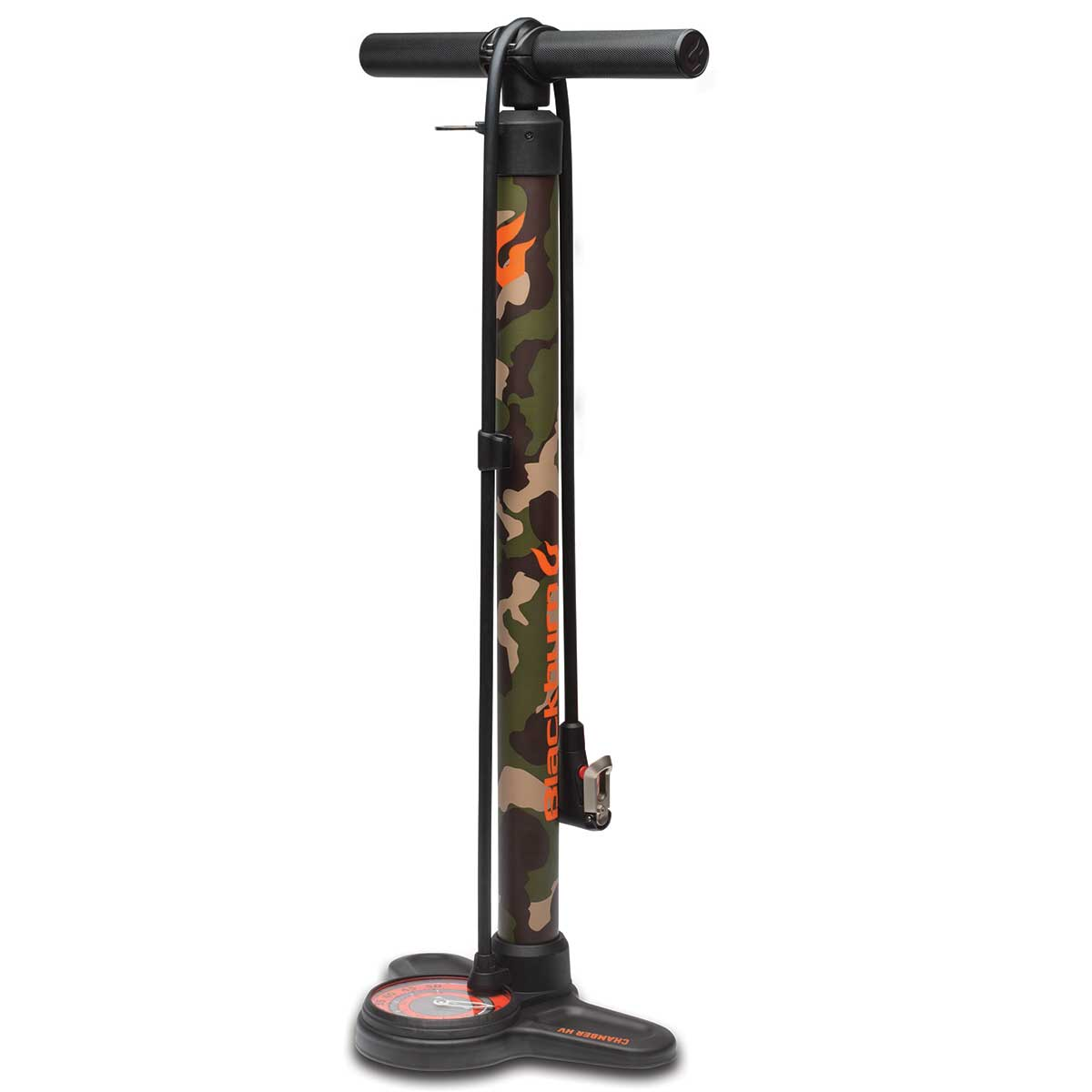Blackburn Chamber HV Floor Pump in Camo