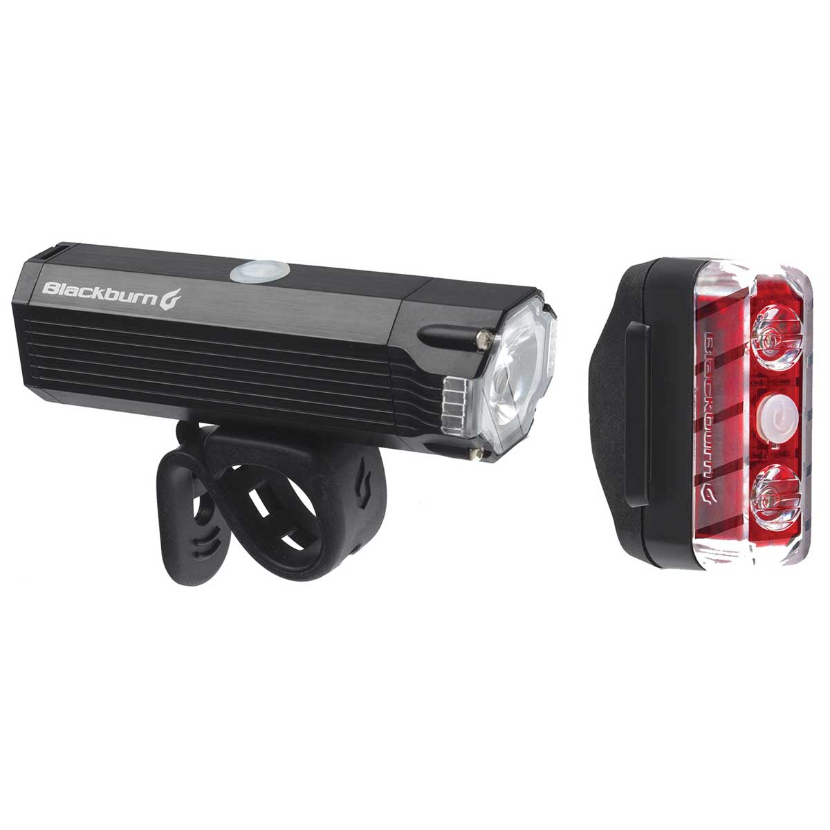Blackburn Dayblazer 800 Front 65 Rear Light Set in Black