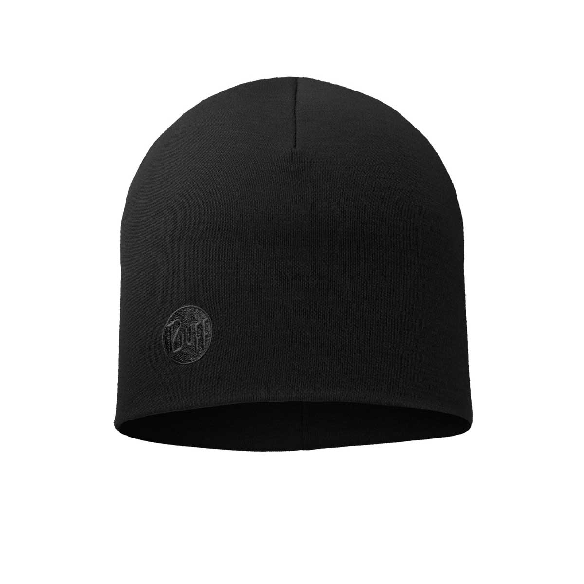 Buff Unisex Lightweight Merino Wool Hat in Black