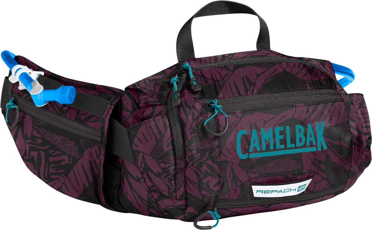 CamelBak Repack LR 4 Hip Pack in Plum and Black Palms