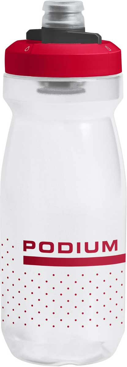 CamelBak Podium bottle in Fiery Red