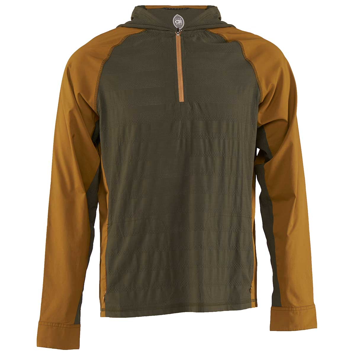 Club Ride men's Helios Sun Shirt in Dusty Olive and Tapenade