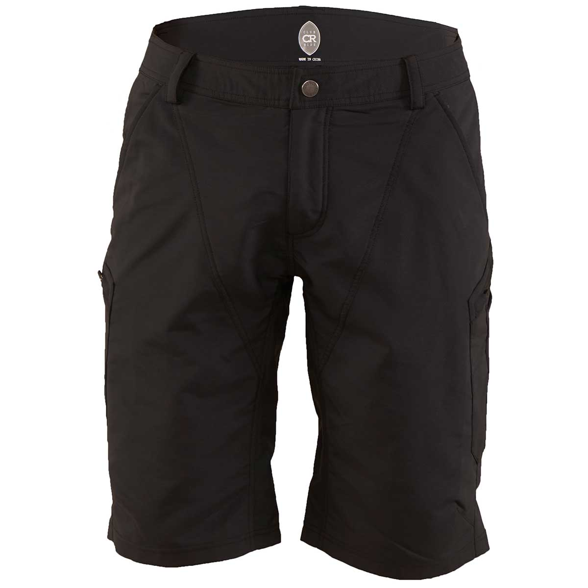 Club Ride men's HiFi Short in Black