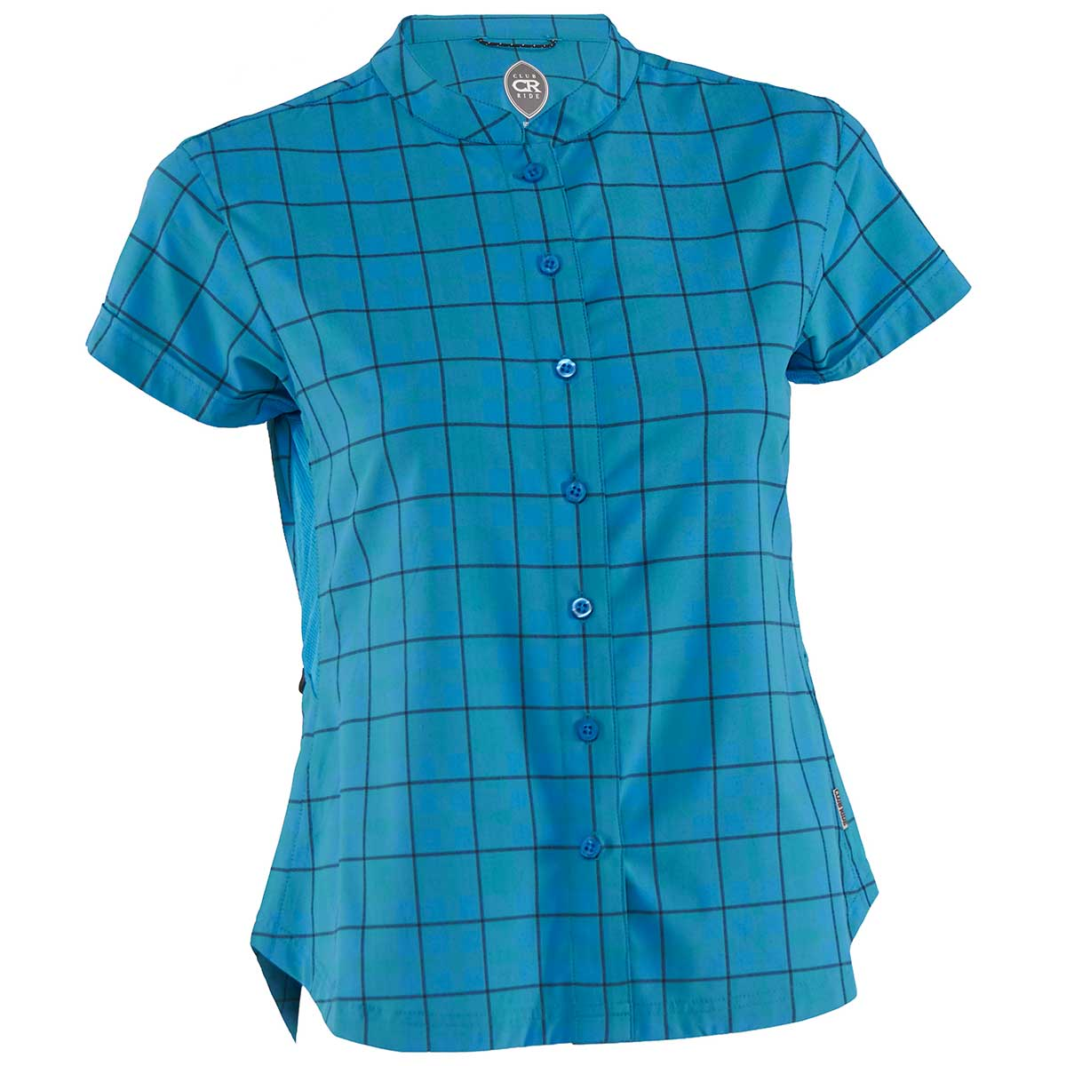 Club Ride women's Belle Vista Jersey in Caribbean Blue