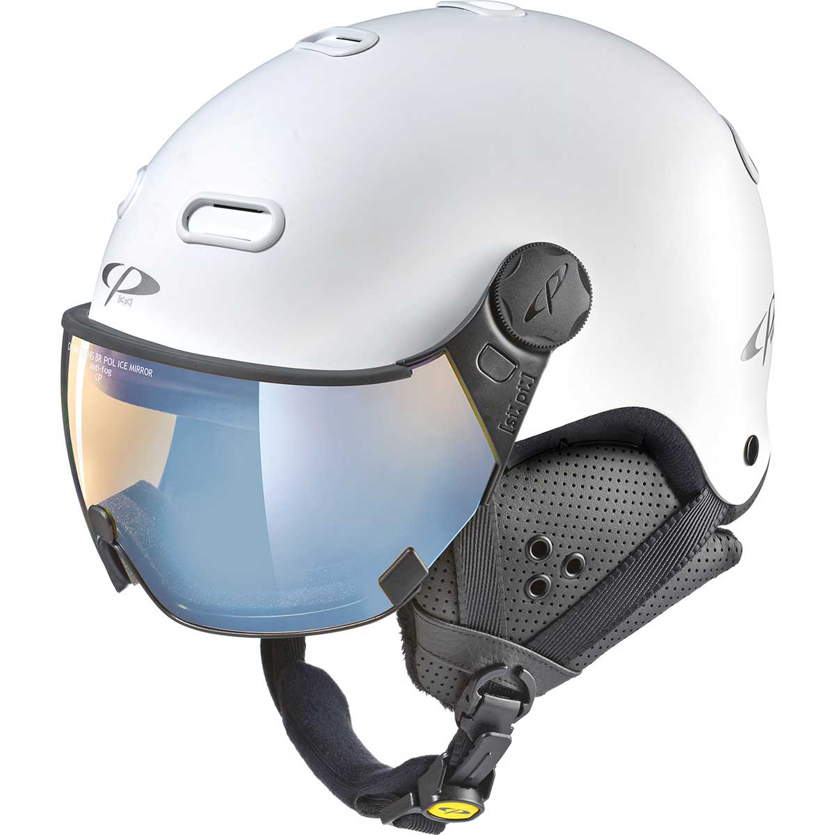 CP Carachillo Helmet with polarized lens in DL Vario Ice Mirror