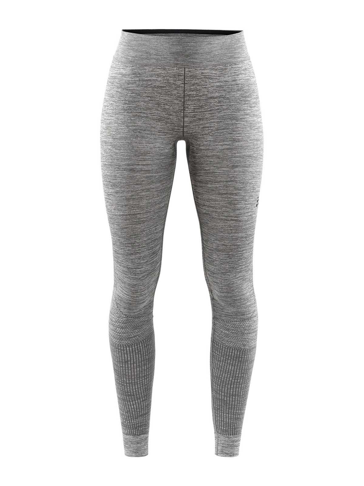 craft women's fuseknit comfort pants in dark grey melange