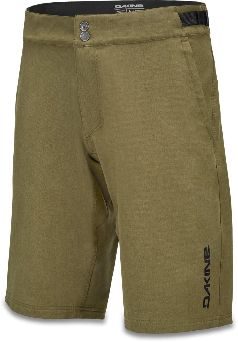Dakine men's Syncline Short with Liner in Dark Olive