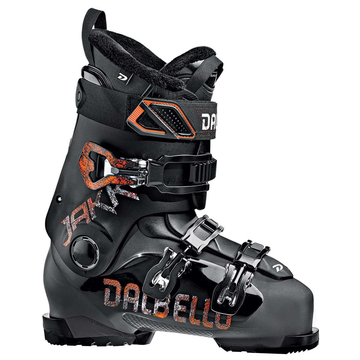 Dalbello Jakk junior ski boot in black and black