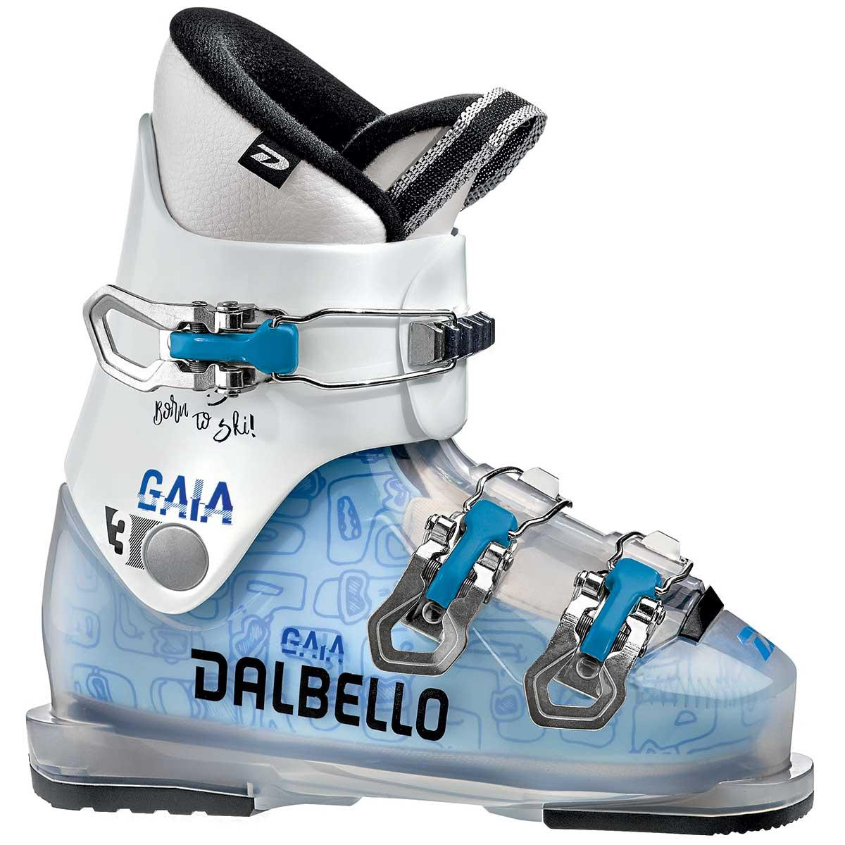 Dalbello Gaia 3 junior ski boot in trans white