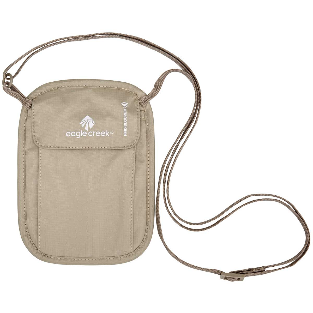 Eagle Creek RFID Blocker Neck Wallet in Tan