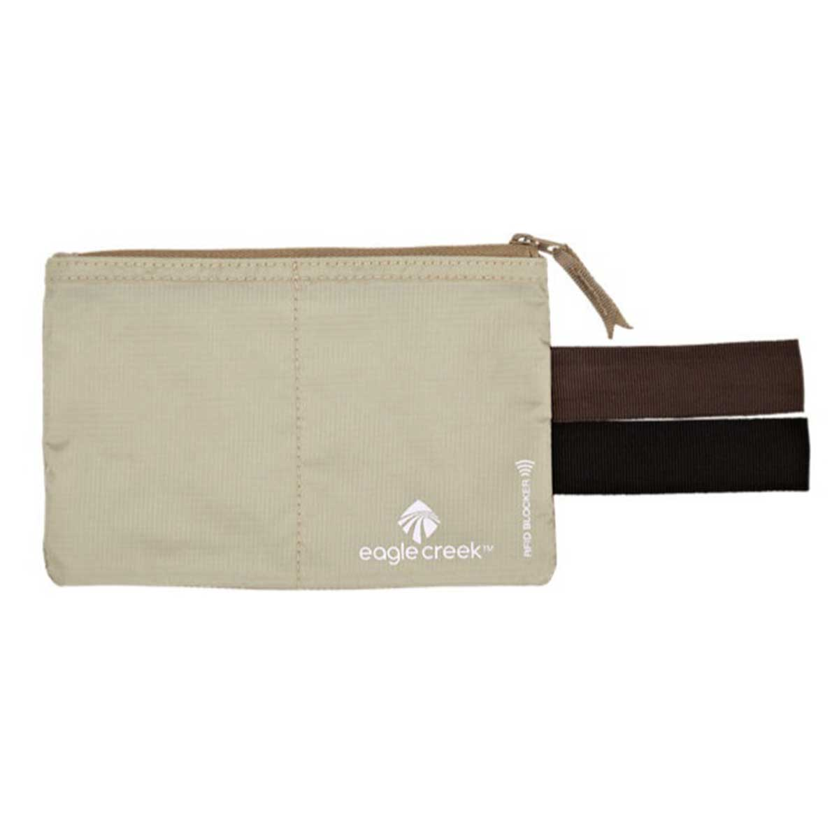 Eagle Creek RFID Blocker Hidden Pocket in Tan