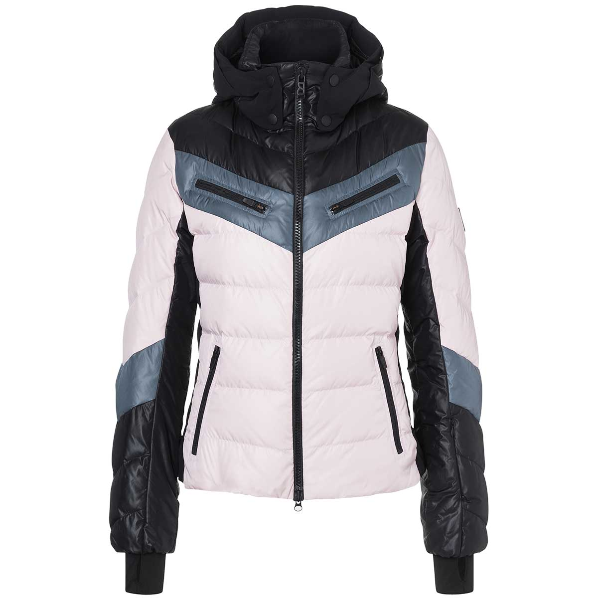 Bogner Fire+Ice Farina-D women's jacket in dusty rose and black