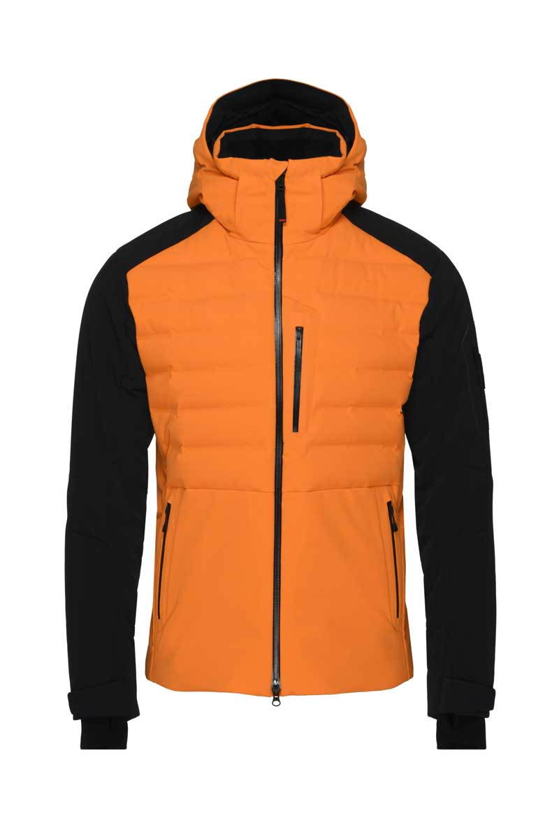 Bogner Fire+Ice Men's Erik Jacket in Bright Orange
