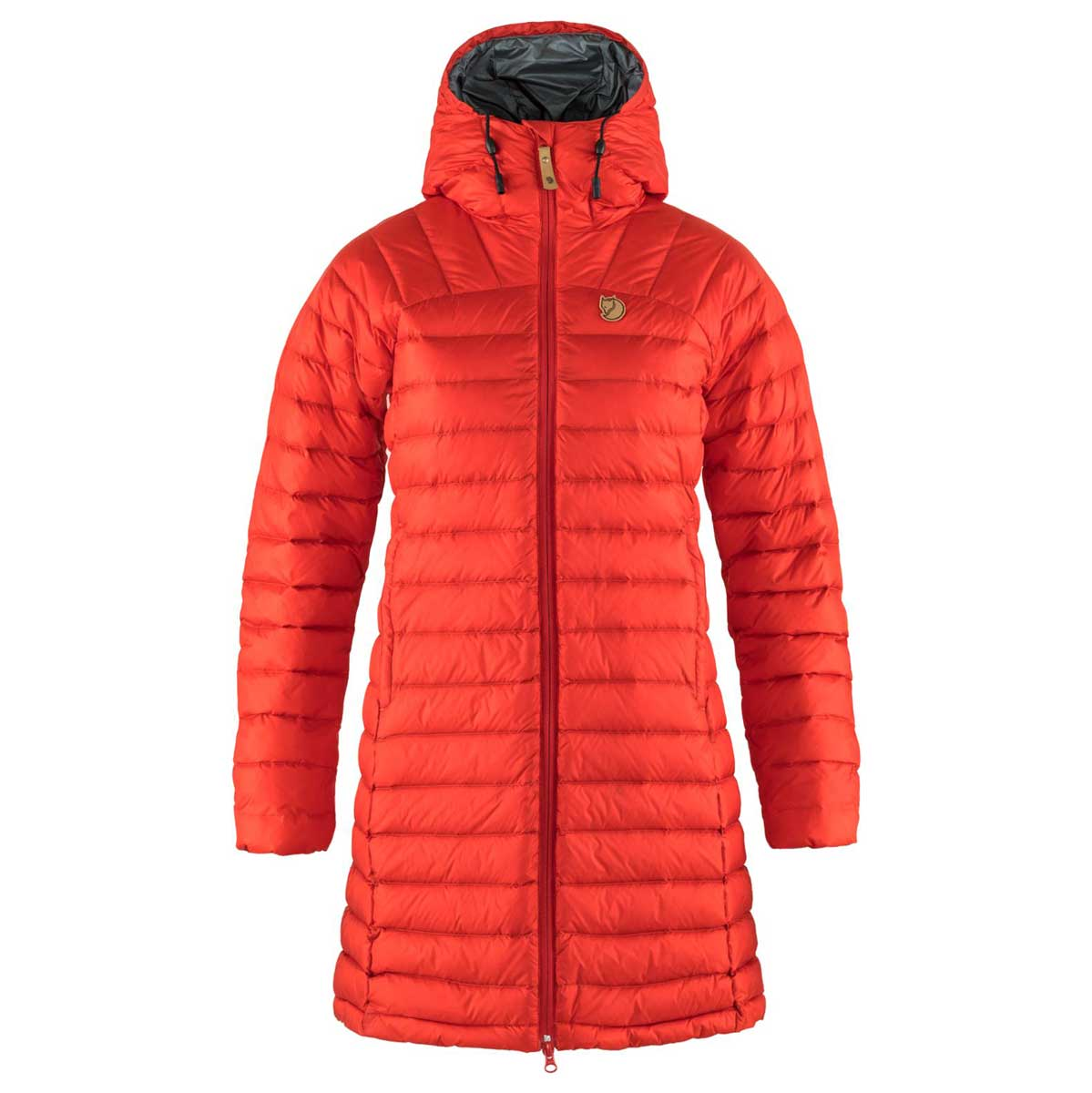 Fjallraven Snowflake Women's Parka in True Red