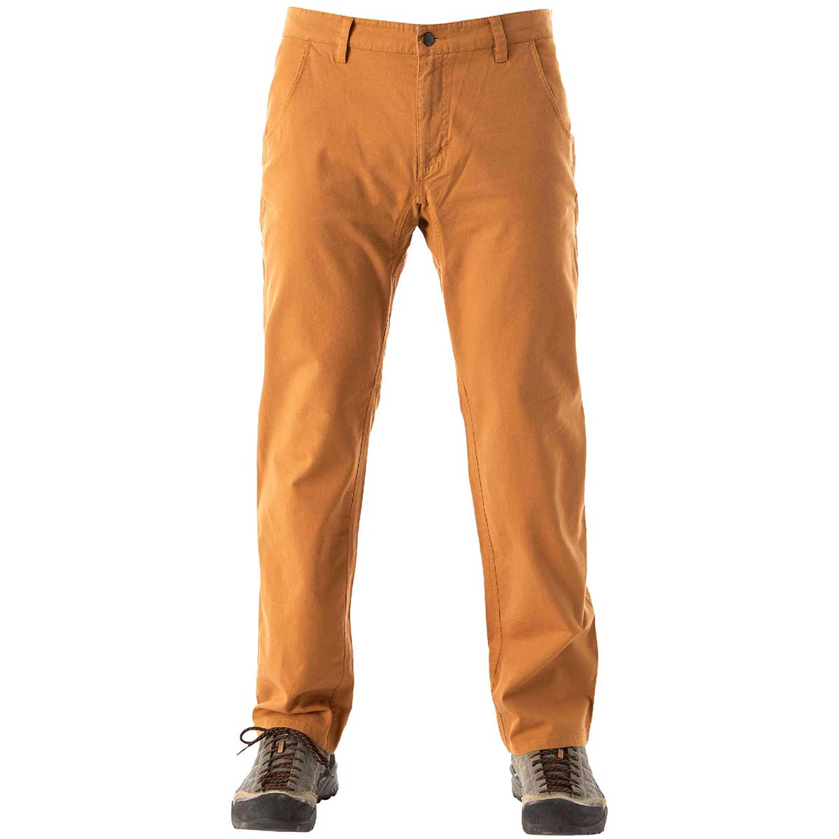 Flylow men's Ditch Pant in Rye front view