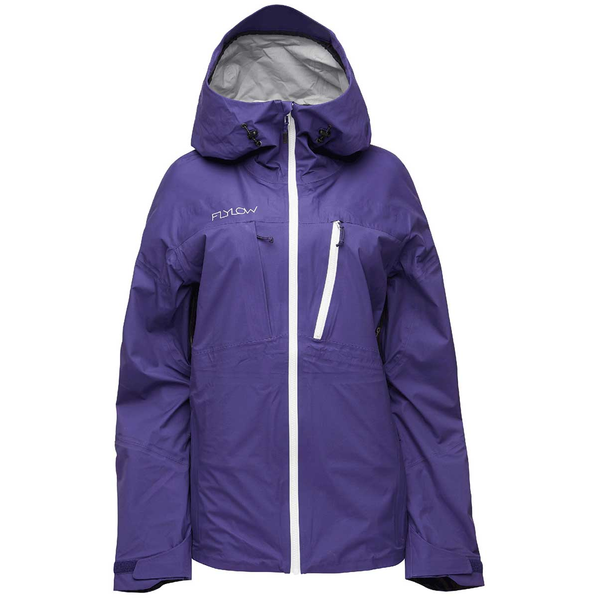 Flylow women's Domino Jacket in Astro front view