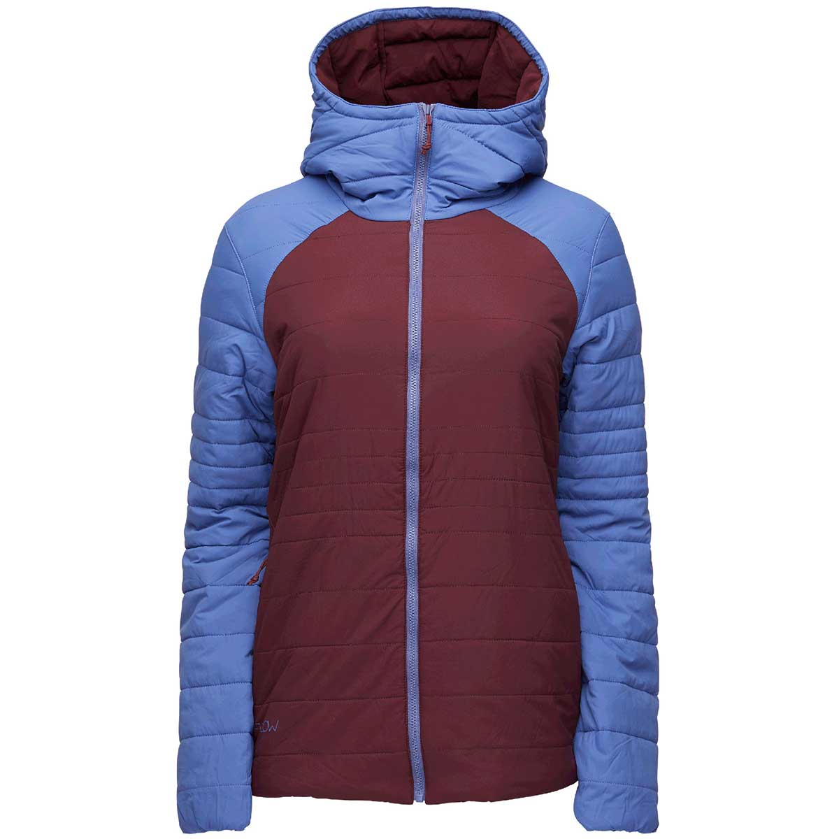 Flylow women's Mia Jacket in Lupine Tawny front view