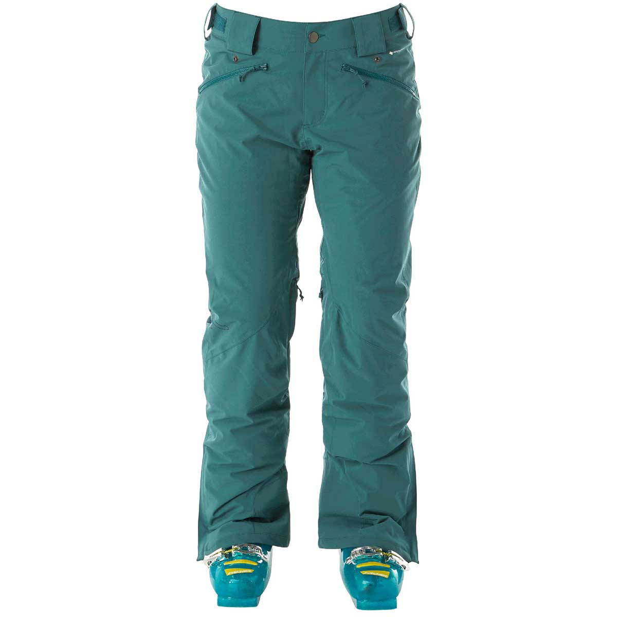Flylow women's Flylow Daisy Insulated Pant in Spruce front view