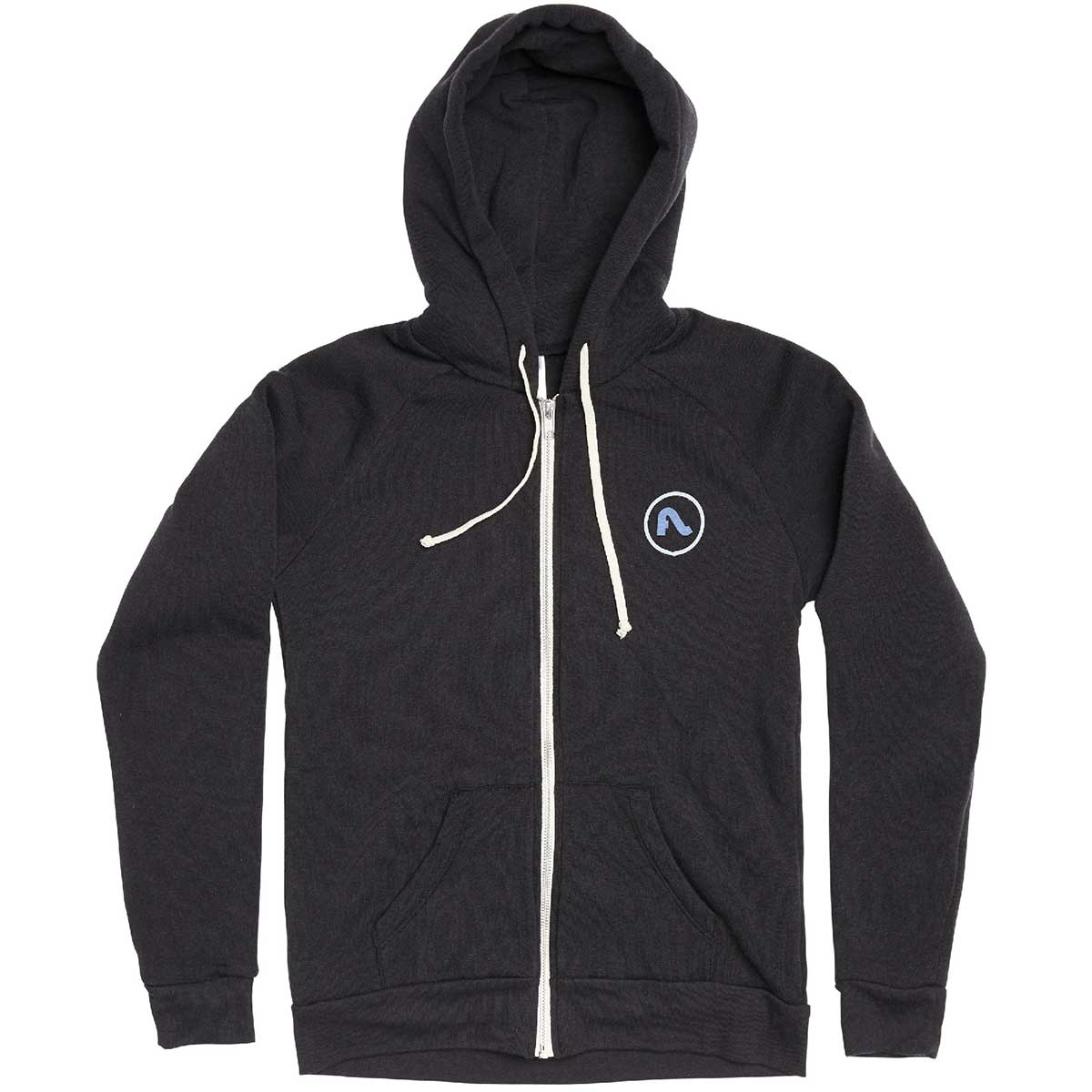 Flylow Mellow Grove Hoody in Black front view