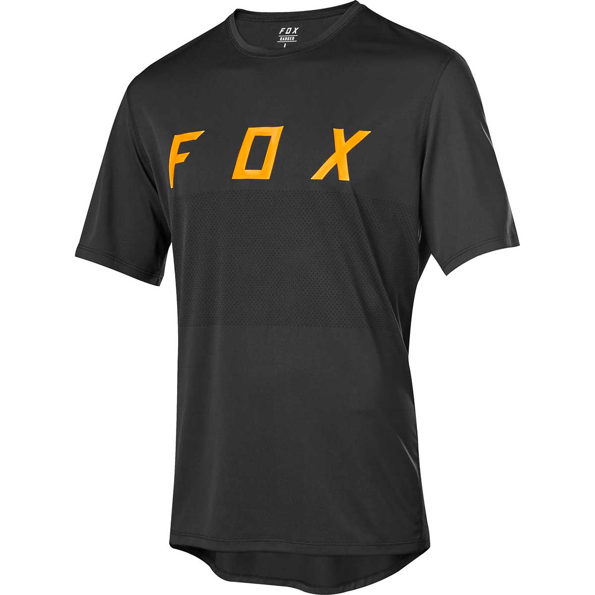 Fox men's Ranger Fox bike jersey in Black