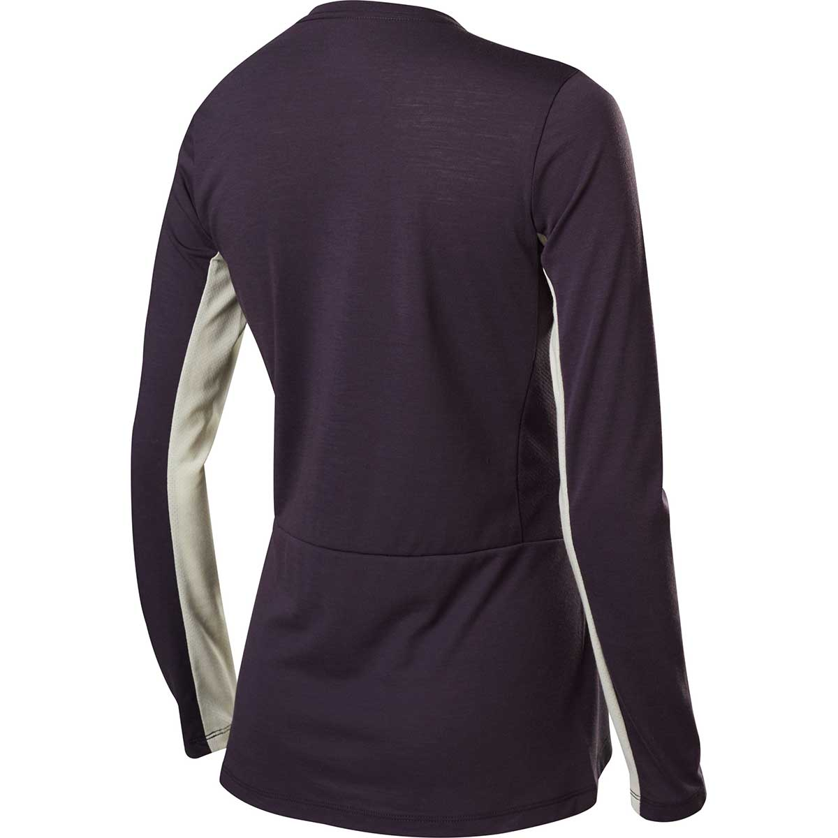 Fox women's Ranger Dri-Release Long Sleeve jersey in Dark Purple