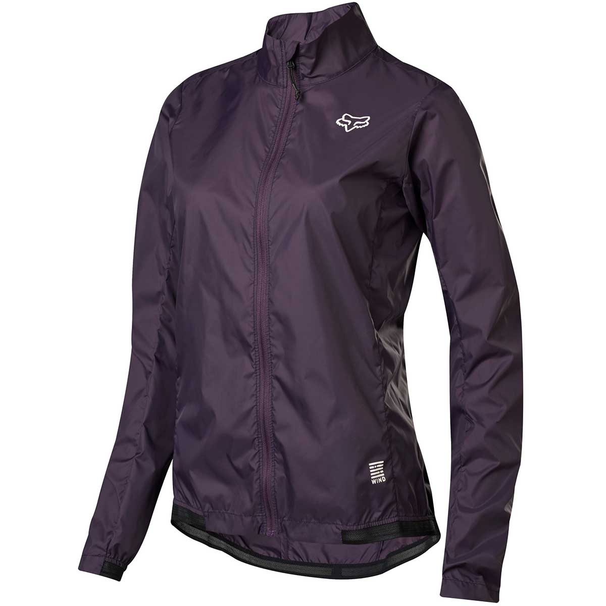 Fox women's Defend Wind Jacket in Dark Purple