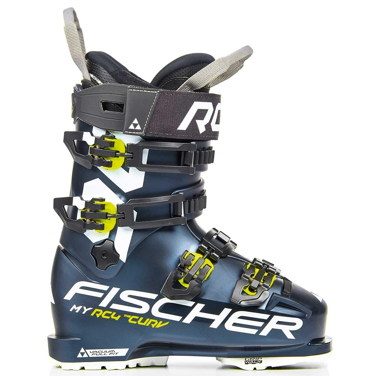 Fischer Women's My Curv 90 Vacuum Full Fit ski boot in dark blue