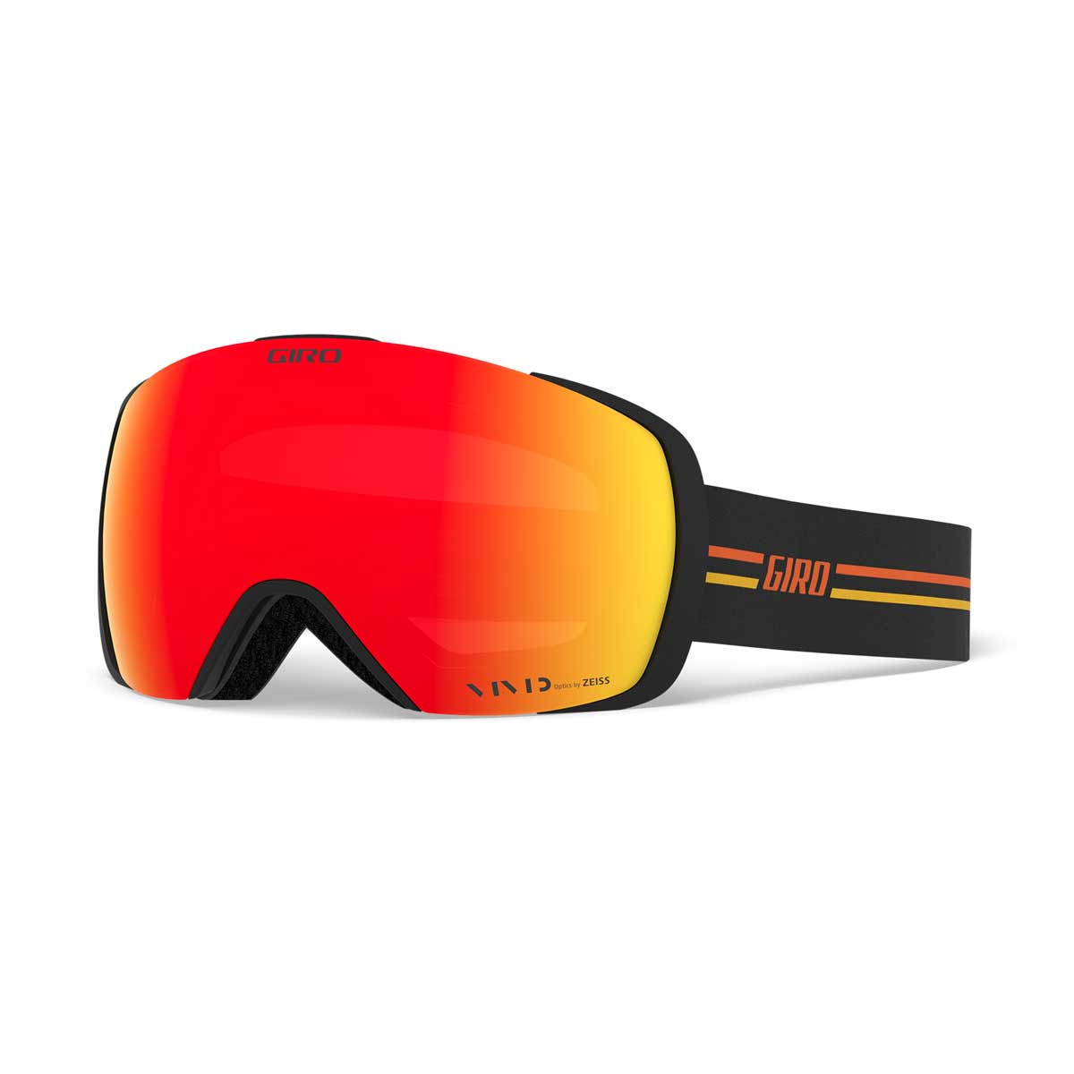 Giro Contact Goggle in GP Black with Orange