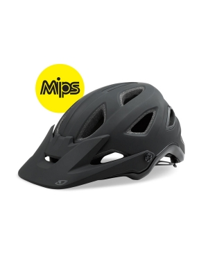 Giro Montaro MIPS Helmet in Matte Black and Gloss Black