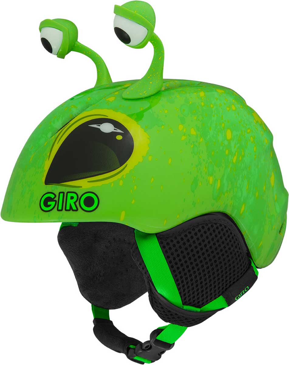Giro Launch Plus Helmet Kids' in Green Alien