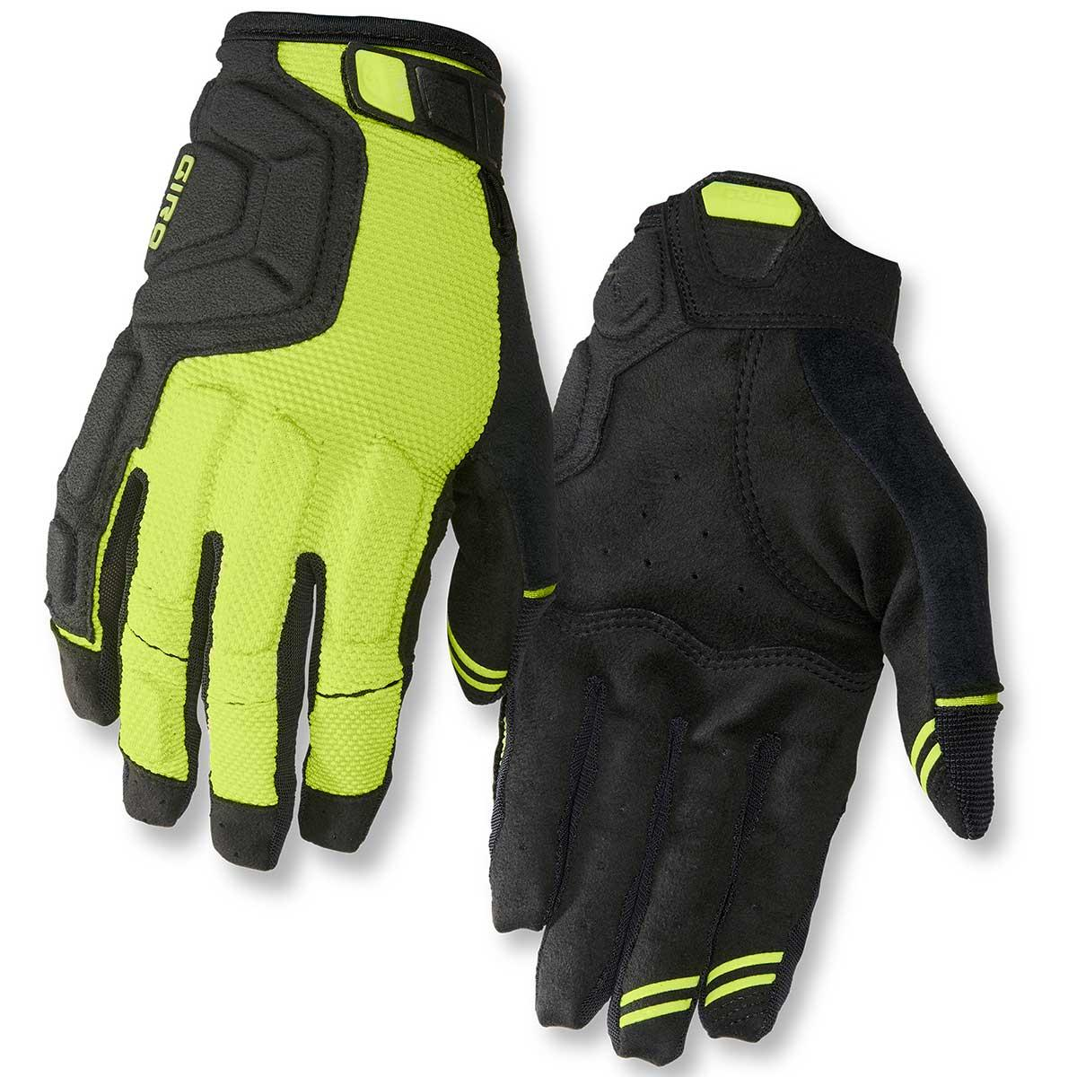Giro Remedy X2 Gloves in Lime and Black main view