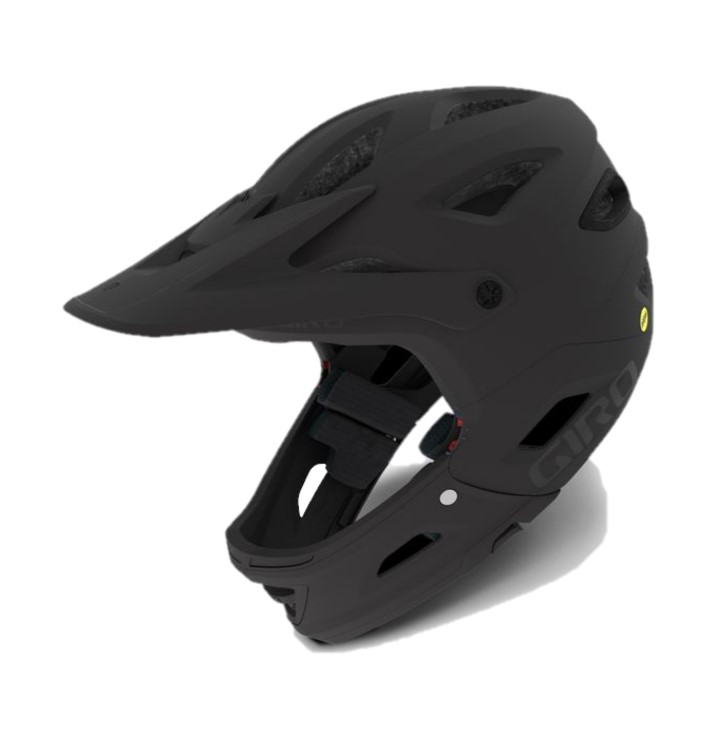 Giro Switchblade MIPS Helmet in Matte Black and Gloss Black