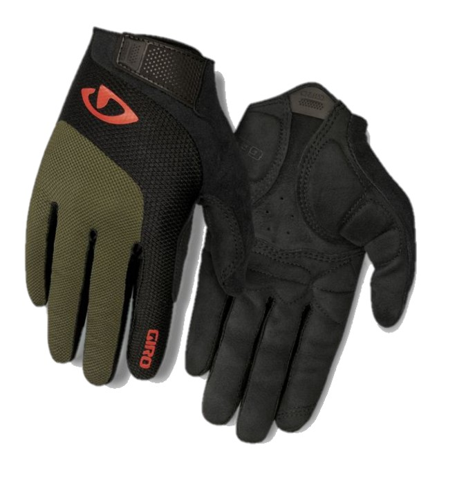 Giro Bravo Gel LF Glove in Olive