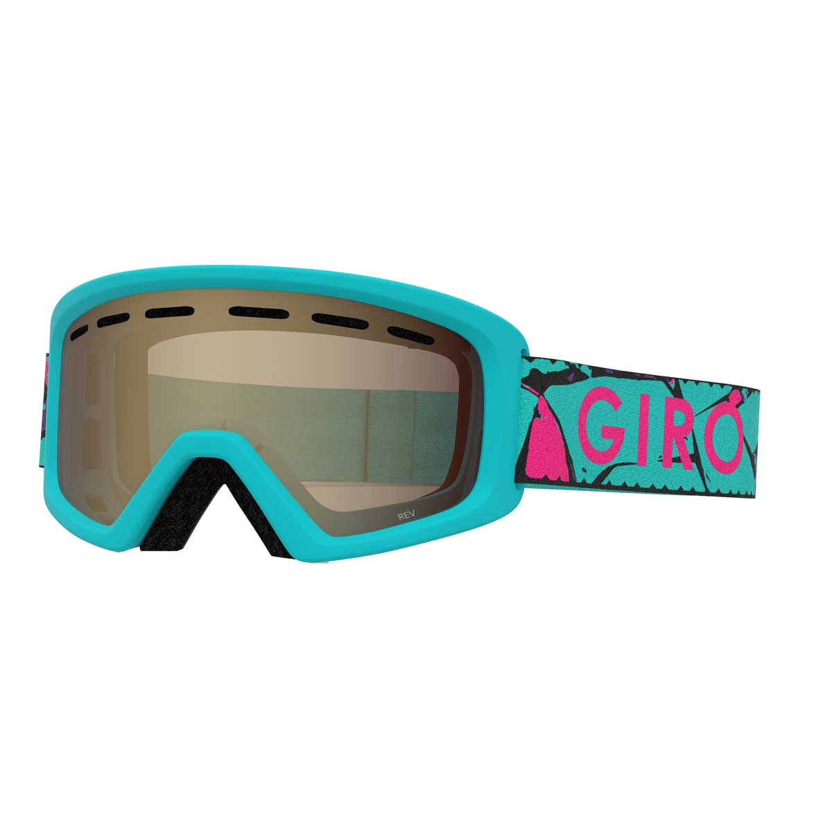 Giro Rev Goggle in Glacier Rock with Amber Rose