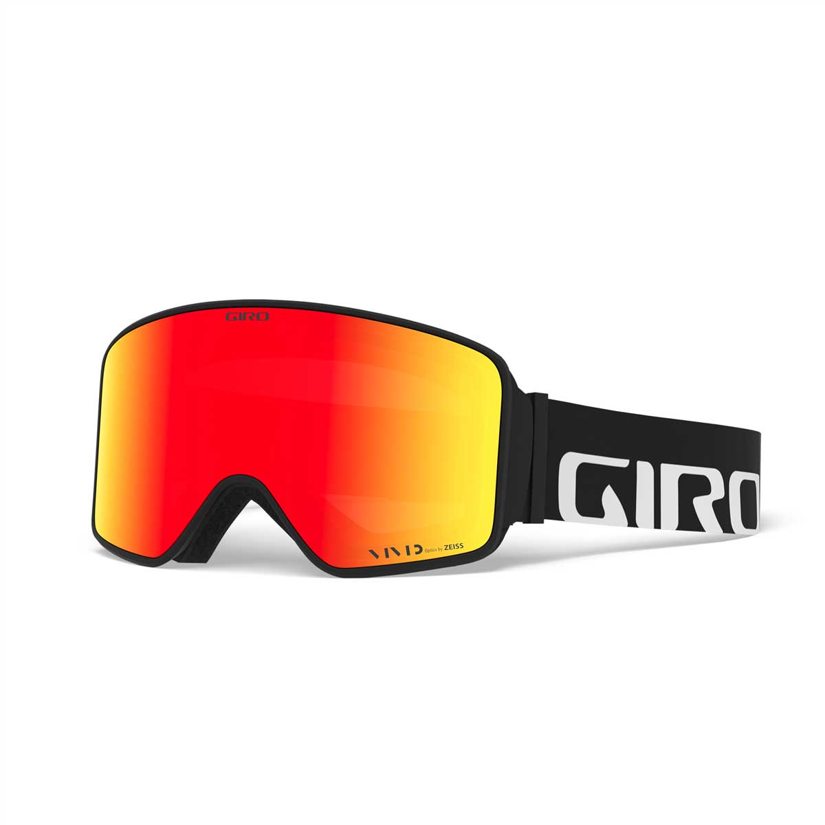 Giro Method Goggle with Bonus Lens in Black Wordmark with Vivid Ember