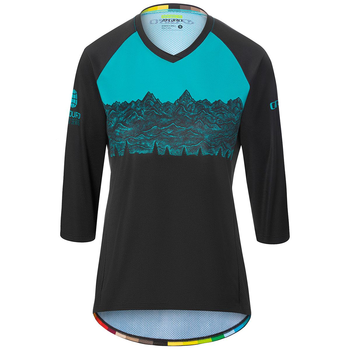 Giro women's Roust 3/4 Jersey in EWS front view