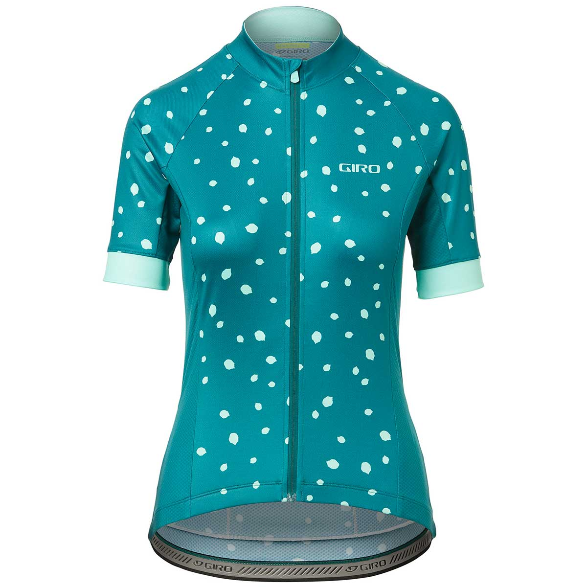 Giro women's Chrono Sport Jersey in True Spruce Blossom front view