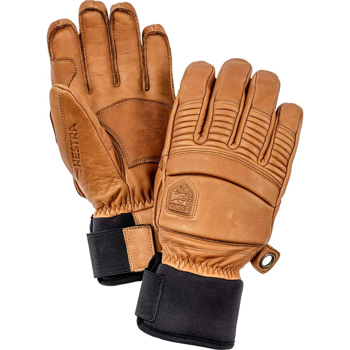 Hestra Leather Fall Line Gloves in cork