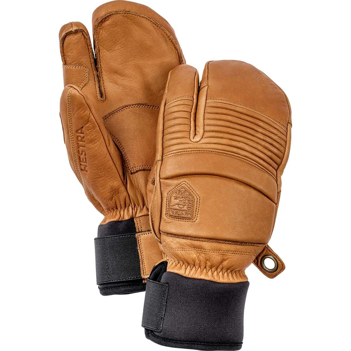 Hestra Leather Fall Line 3-Finger gloves in cork