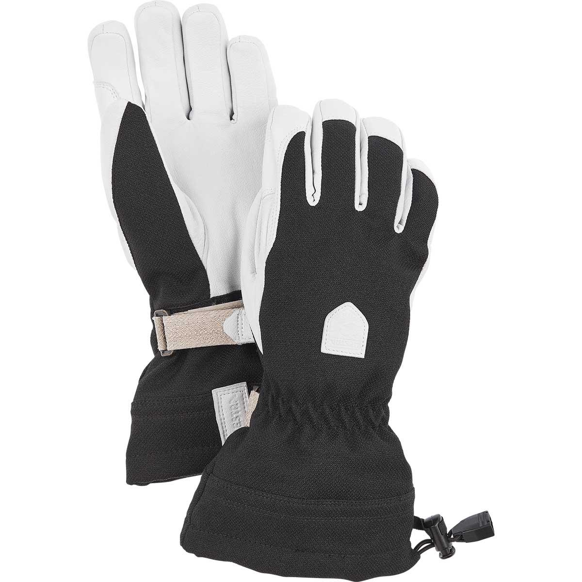 Hestra women's Patrol Gauntlet Glove in black