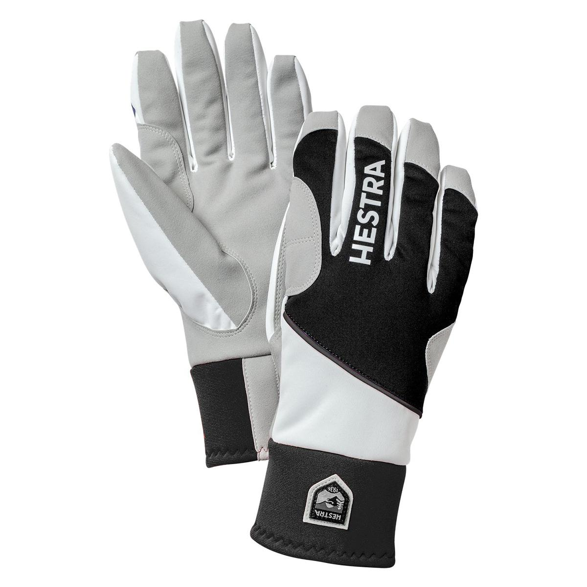 Hestra Comfort Tracker Glove in black and ivory