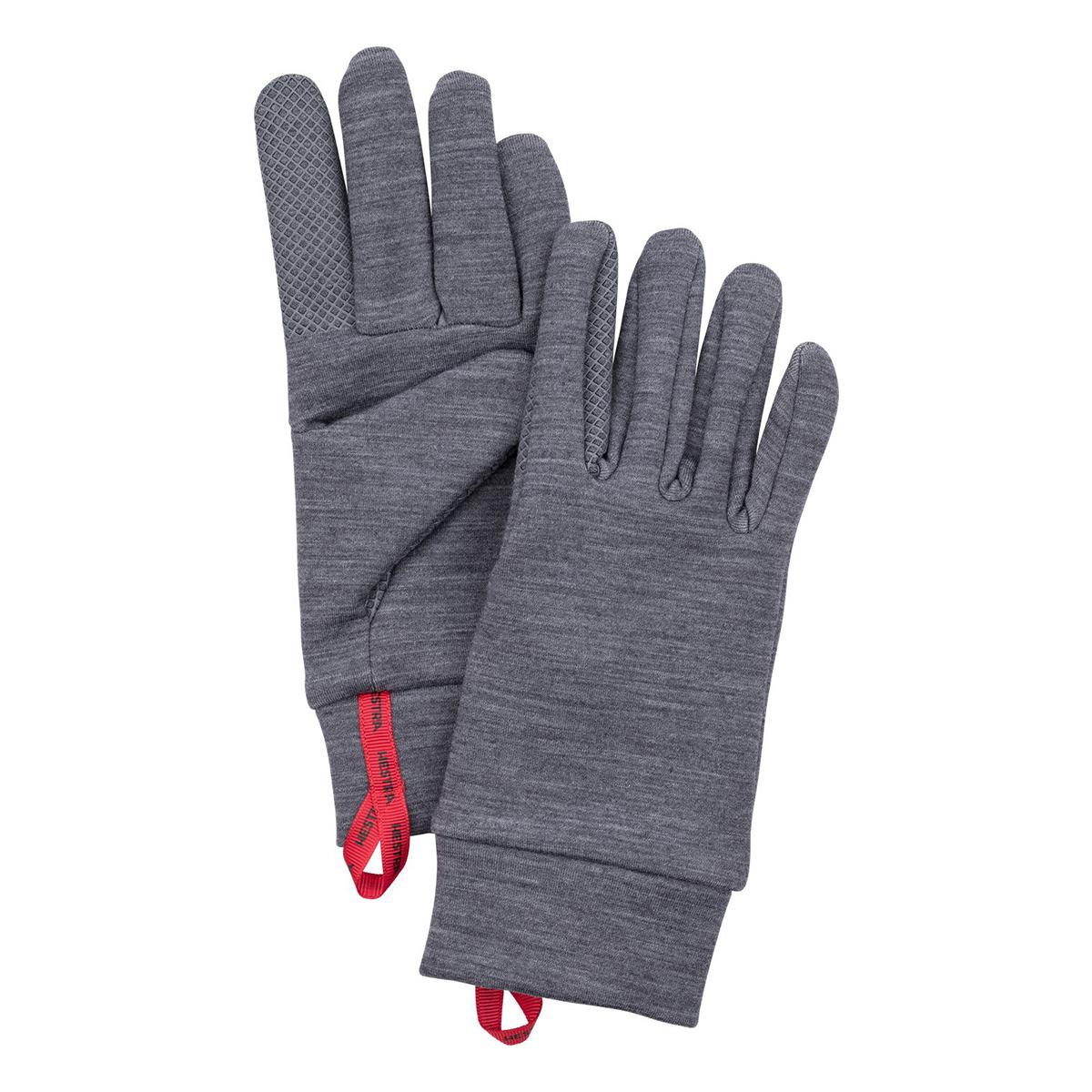 Hestra Touch Point Warmth Glove Liner in grey