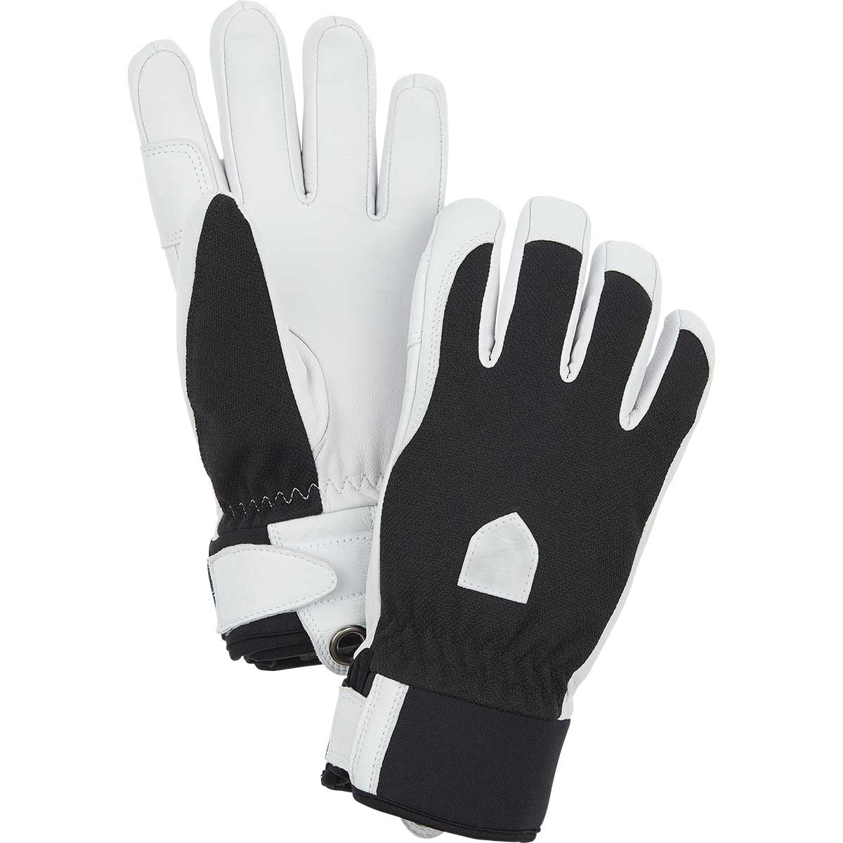 Hestra women's Patrol 5-Finger Glove in black