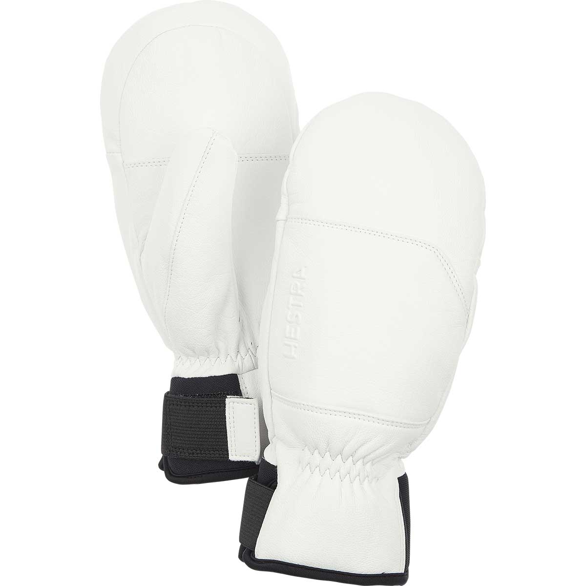 Hestra Omni Mitt in white