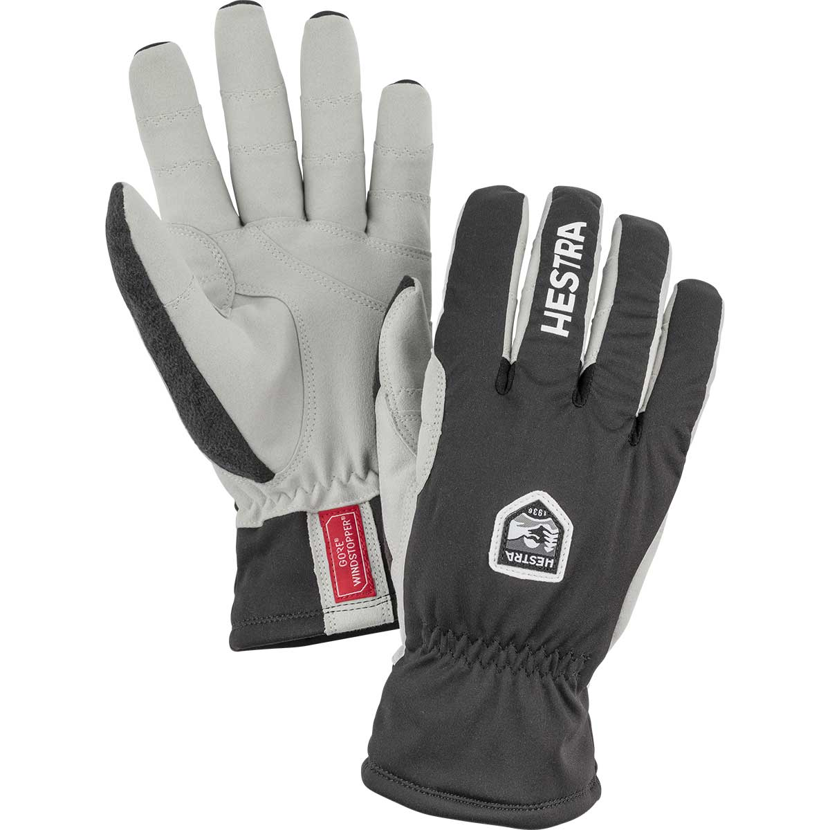 Hestra Windstopper Ergo Grip Touring Glove in black