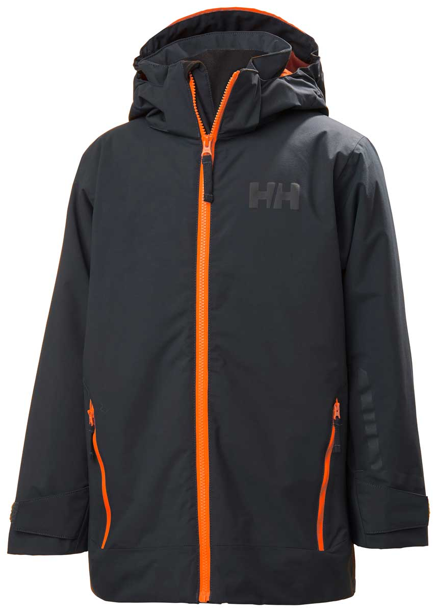 Helly Hansen Boys' Blaze Jacket in Slate